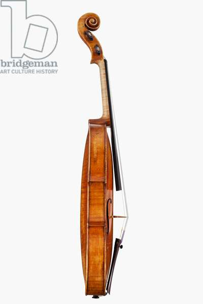 Violin (side), Milan, c.1755