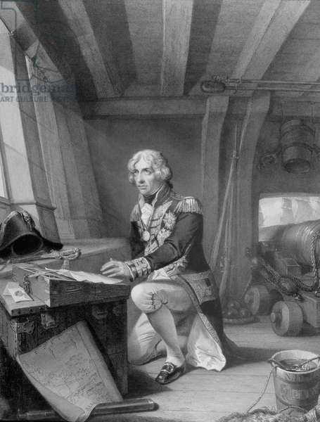 Nelson at Prayer (engraving)