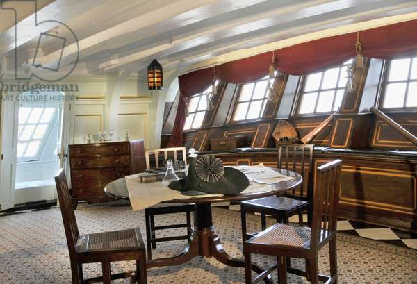The Great Cabin on HMS Victory, 2013 (photo)
