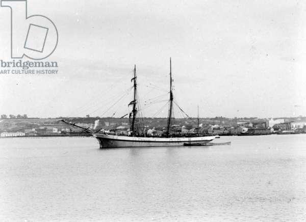 Q Ship (b/w photo)