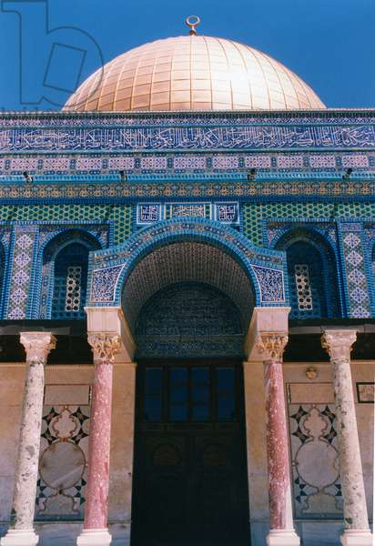 Mosque, Dome of the Rock, Jeruselem,  (photo)