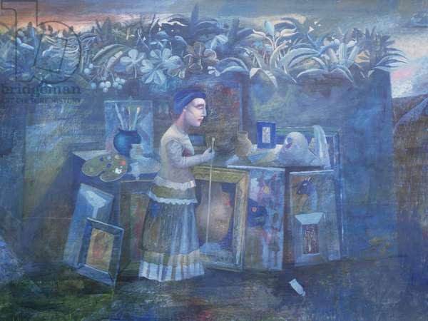 The Studio, 1997 (oil on canvas)
