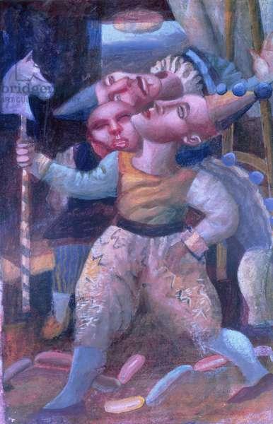 Circus Rites, 1998 (tempera on paper)