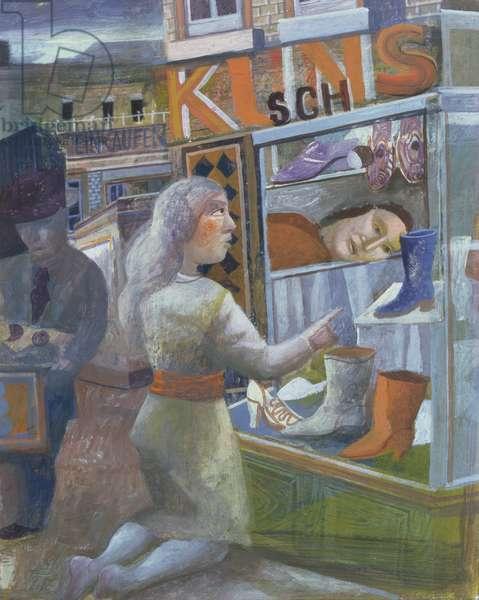 The Magic Shoe Shop, 1993 (gouache on paper)