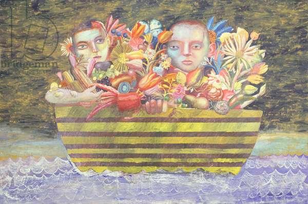 Basho's Dream, 1998 (oil on canvas)