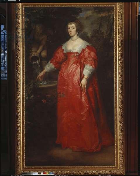 Portrait of a woman, c.1634-35 (oil on canvas)