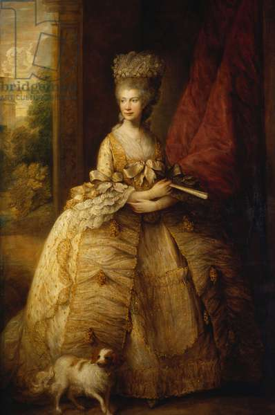 Queen Charlotte, c.1790 (oil on canvas)