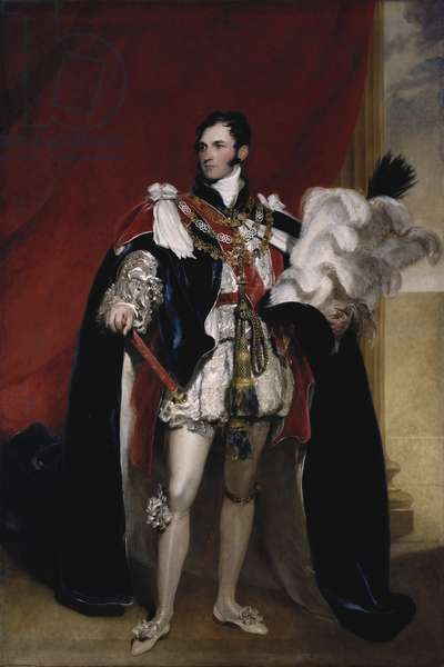 Prince Leopold of Saxe-Coburg, 1821 (oil on canvas)