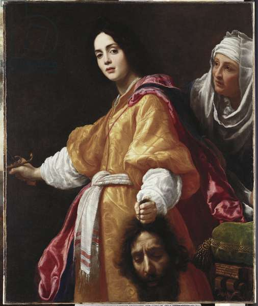 Judith with the Head of Holofernes, 1613 (oil on canvas)