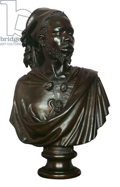 Saïd Abdallah, de la Tribu de Mayac, Royaume de Darfour, 1848 (bronze)