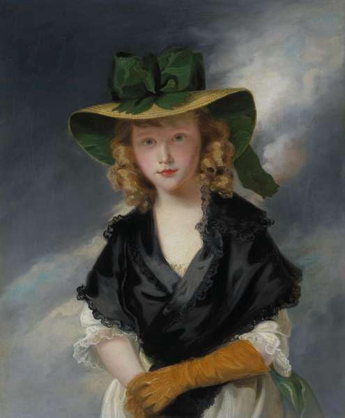 Princess Mary (1776-1857), c.1785 (oil on canvas)