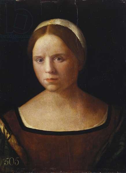Portrait of a Woman, c.1490-1530 (oil on panel)