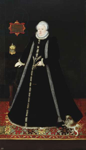 Lady Margaret Douglas, Countess of Lennox (1515-78), c.1572 (oil on canvas)