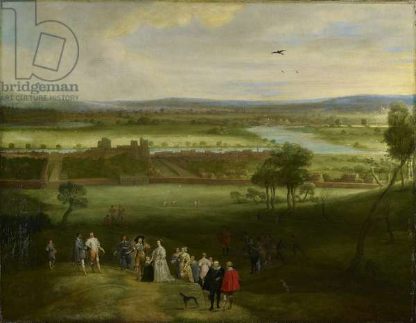 A View of Greenwich, c.1632 (oil on canvas)