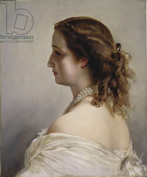 Eugenie, Empress of the French, c.1890 (oil on canvas)