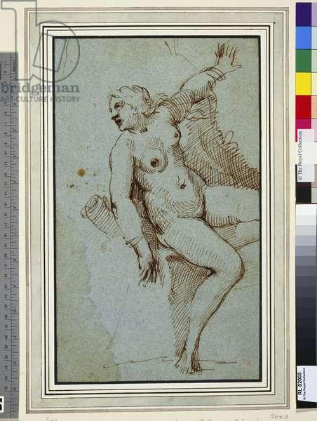 Andromeda (pen & ink on paper)