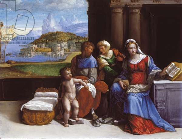 The Holy Family, 1533 (oil on panel)