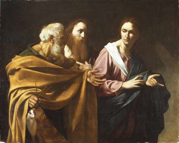 The Calling of SS. Peter and Andrew, c.1602-04 (oil on canvas)