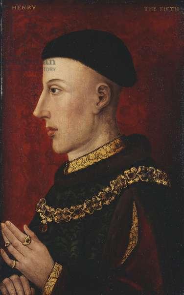 Henry V, 1500-20 (oil on panel)