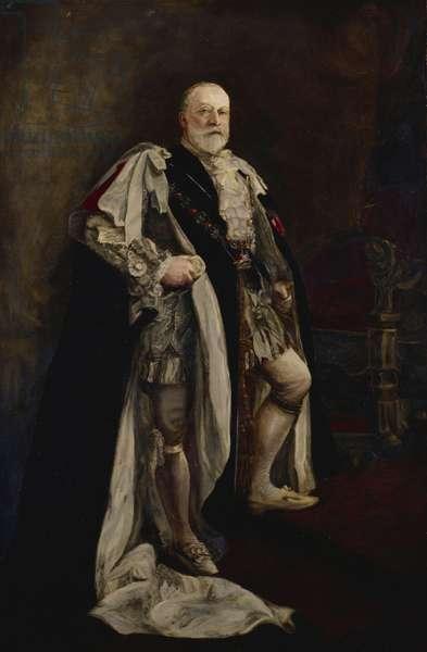 King Edward VII, c.1906-07 (oil on canvas)