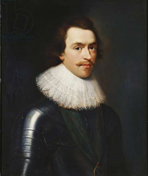 Charles I, when Prince of Wales, c.1623 (oil on panel)
