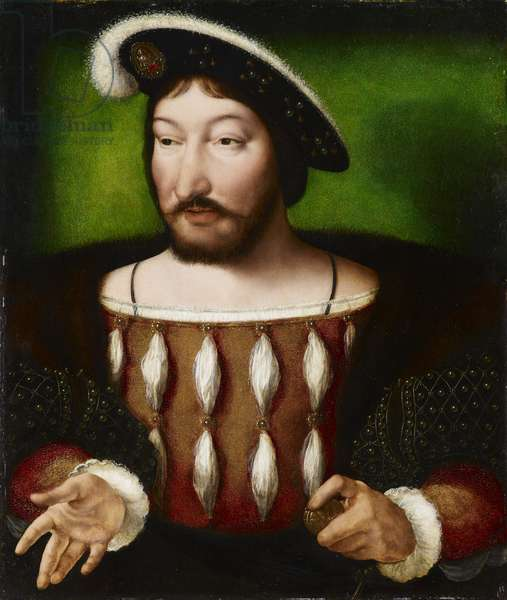 Francis I, King of France, c.1530 (oil on panel)