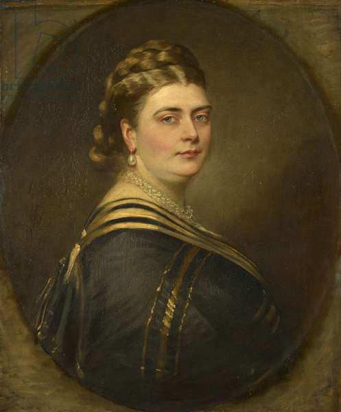 Princess Mary Adelaide, Duchess of Teck, 1873 (oil on canvas)