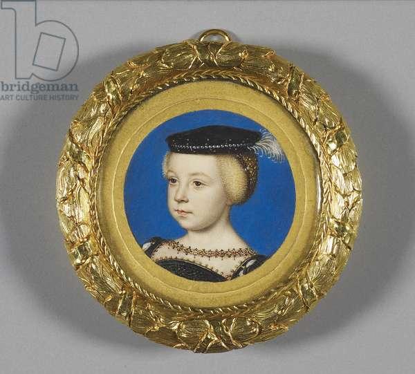 Elizabeth of Valois, later Queen of Spain, c.1549 (w/c on vellum)