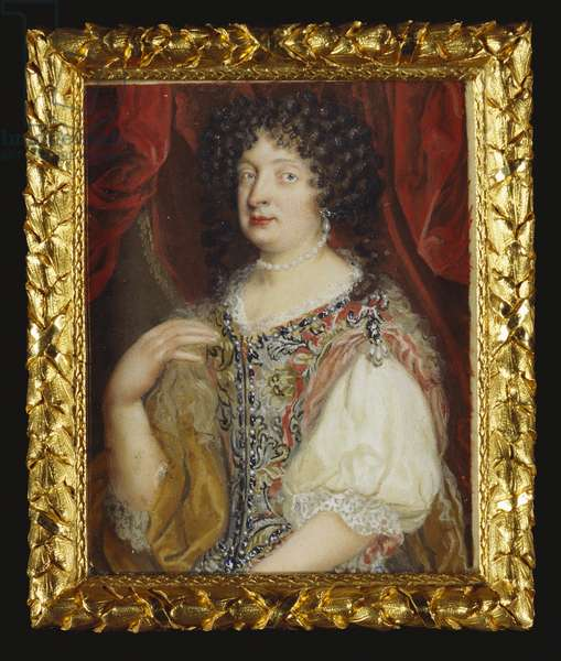 Sophia, Electress of Hanover, c.1670 (w/c on vellum, on card)