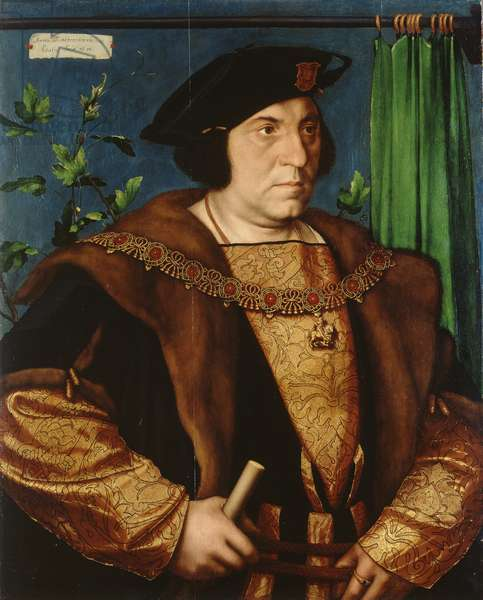 Sir Henry Guildford, 1527 (oil on panel)