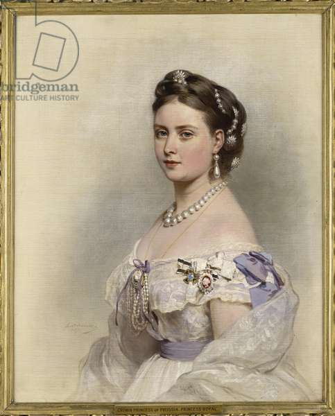 Victoria, Princess Royal, 1867 (oil on canvas)