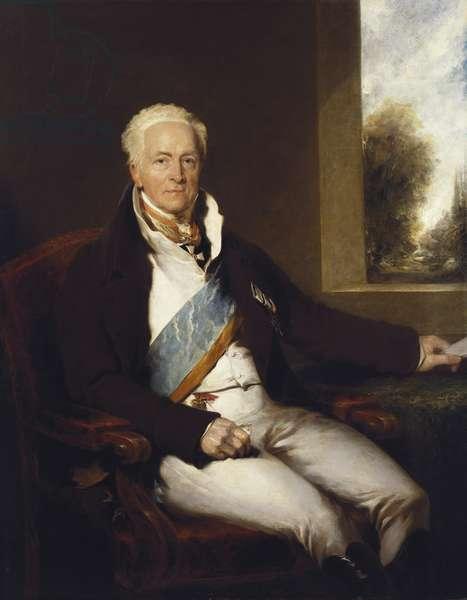 Charles Augustus, Prince Hardenberg, 1818 (oil on canvas)