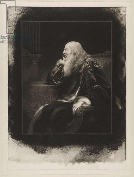 George III, c.1820 (mezzotint)