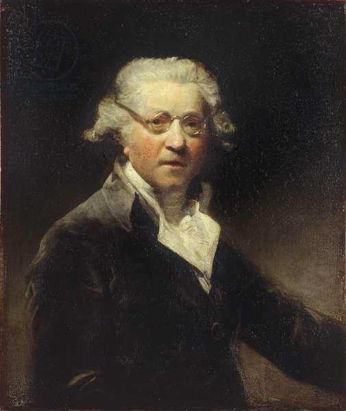 Self portrait, 1788 (oil on canvas)