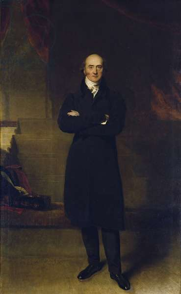 George Canning, 1829 (oil on canvas)