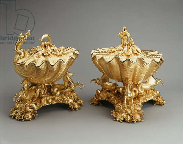 Tureens (part of The Grand Service), hallmark 1826/7 (silver gilt)