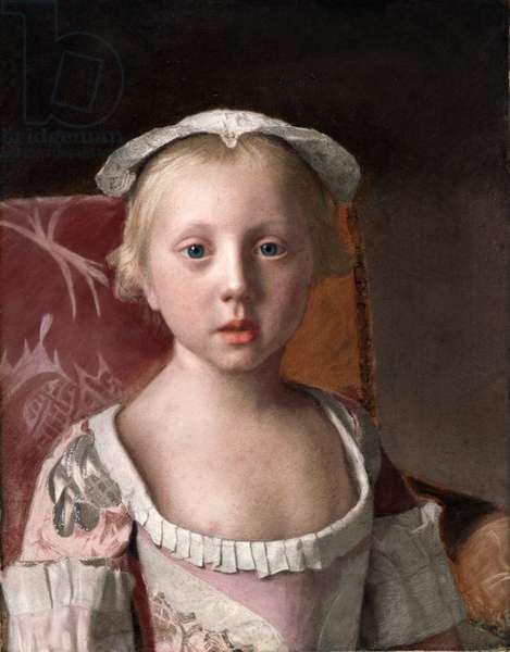 Princess Louisa, c.1754-55 (pastel on vellum)