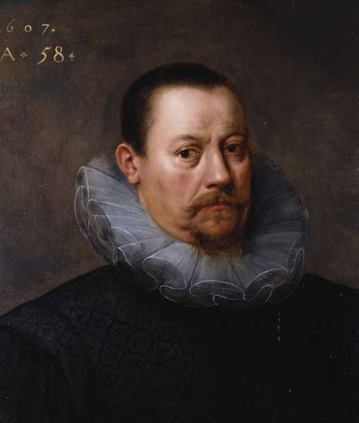 Portrait of a man, 1607 (oil on panel)
