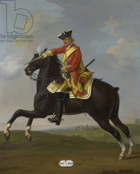 Private, 8th Dragoons, 1751 (oil on canvas)