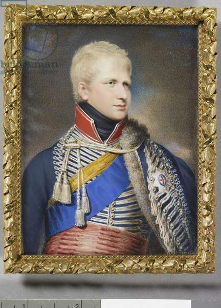 Ernest Augustus, Duke of Cumberland (1771-1851) when King of Hanover, c. 1820 (w/c on ivory)