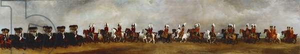 The Coronation Procession of William IV (IX), 1832 (oil on canvas)