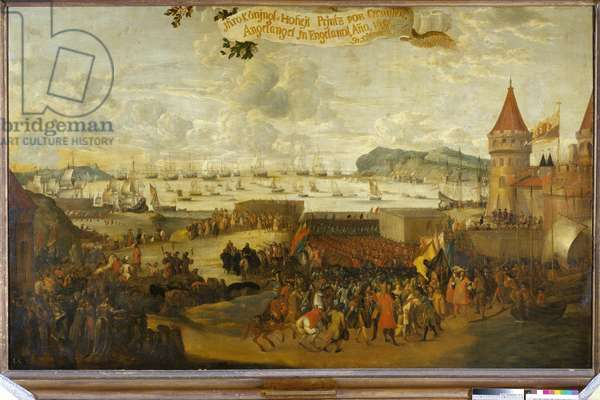 William III, Prince of Orange, Arriving at Brixham, c.1688-99 (oil on canvas)