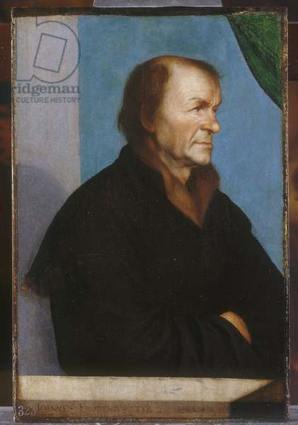 Johannes Froben, c.1522-23 (oil on panel)