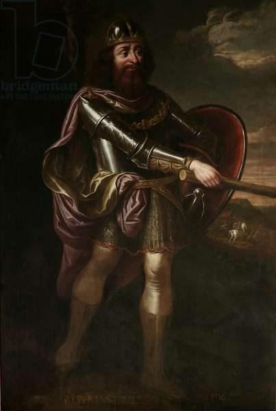 Robert I, King of Scotland, 1686 (oil on canvas)