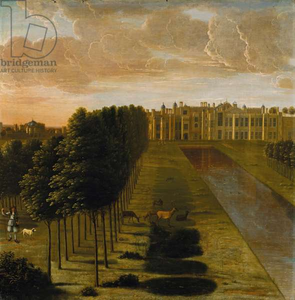 Hampton Court Palace, c.1665-67 (oil on canvas)