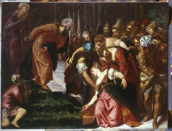 Esther before Ahasuerus c.1546-7 (oil on canvas)