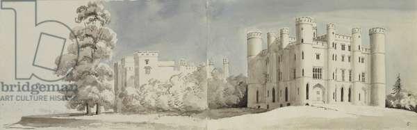 Castellated palace, Kew