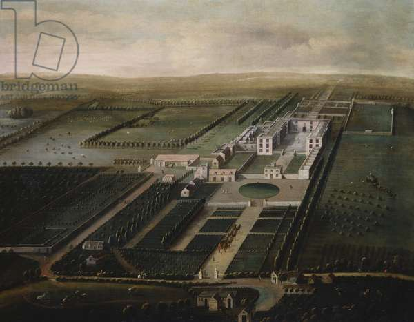 A View of Orchard Portman, c.1705 (oil on canvas)