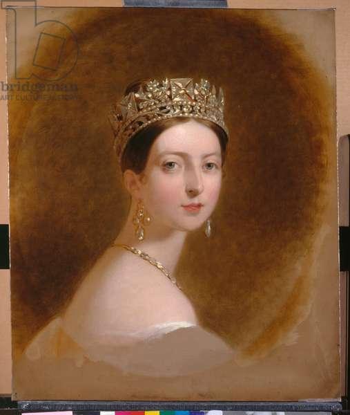 Queen Victoria, 1839 (oil on canvas)
