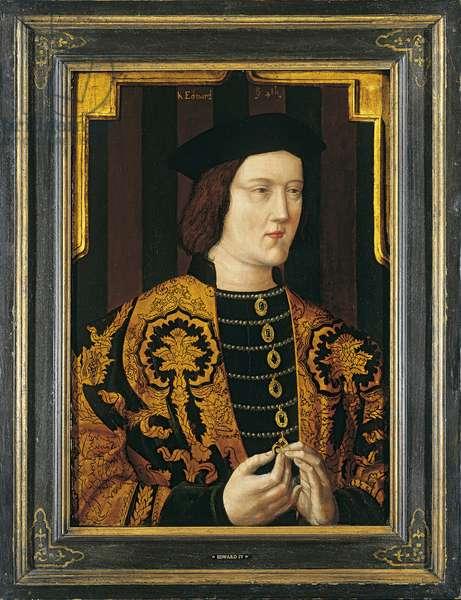 Edward IV, c.1470-1500 (oil on panel)